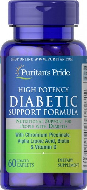 Diabetic Support Formula 60 Caplets