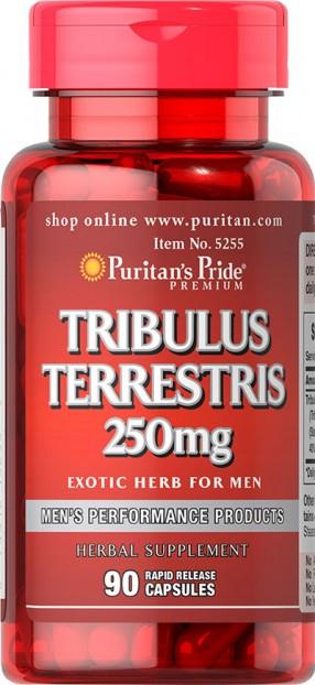 Tribulus Terrestris 250 mg  90 Capsules