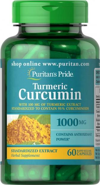 Turmeric Curcumin 1000 mg   60 Capsules
