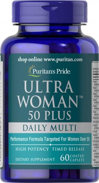 Ultra Woman™ 50 Plus Multi-Vitamin 60 Caplets
