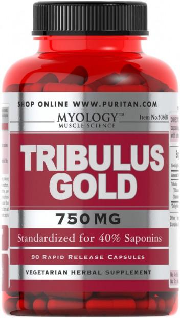 Myology™ Tribulus Gold Standardized Extract 750 mg 90 Capsules