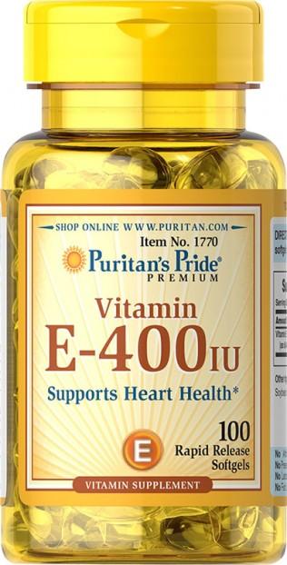Vitamin E-400 IU 100 Softgels