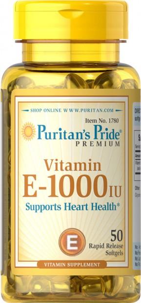 Vitamin E-1000 IU 50 softgels