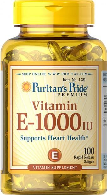 Vitamin E-1000 IU 100 Softgels