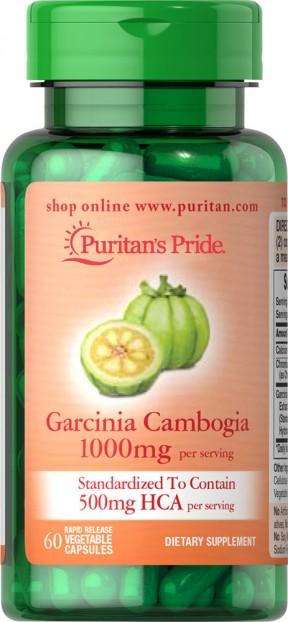 Garcinia Cambogia 500 mg  60 Vegi Caps