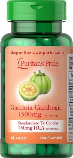 Garcinia Cambogia 750 mg 60 Caplets