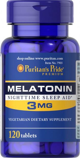Melatonin 3 mg 120 Tablets