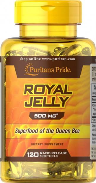 Royal Jelly 500 mg 120 Softgels EXP 31-1-2022