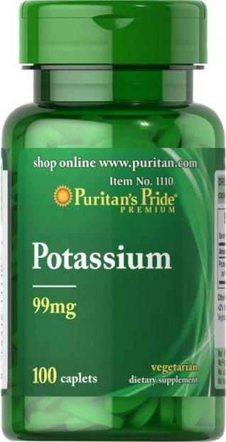 Potassium 99 mg 100 Caplets