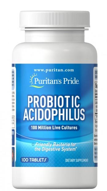 Probiotic Acidophilus 100 tabs EXP 3-2022