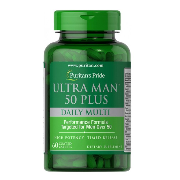 Ultra Man 50 Plus 60 Caplets