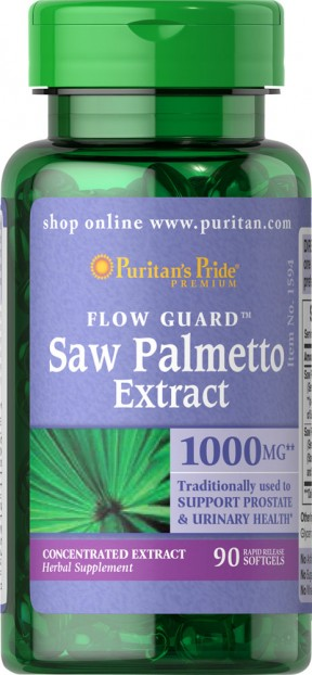 Saw Palmetto Extract 90 Softgels