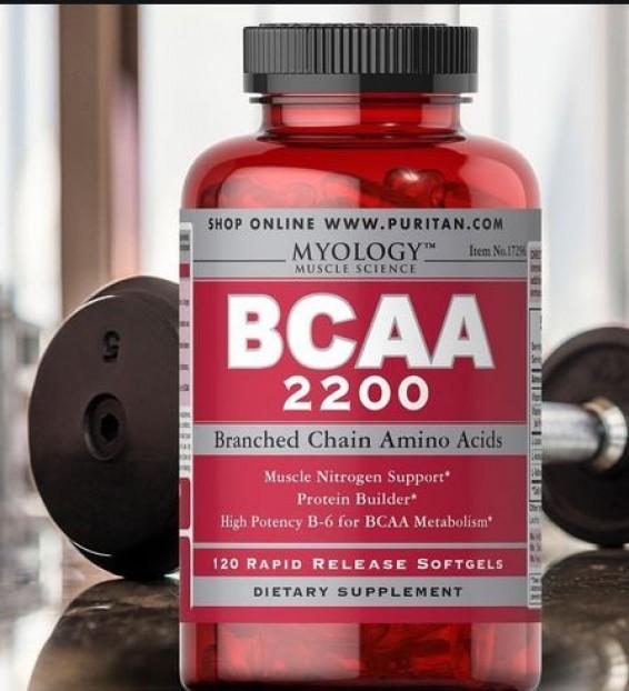 Myology BCAA 2200 120  Capsules