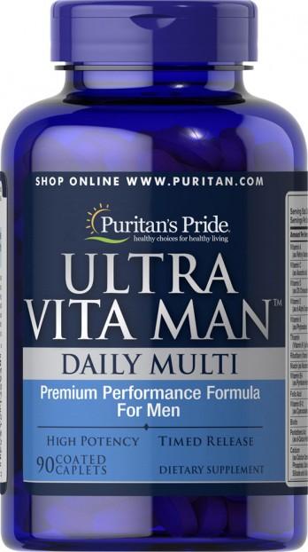 Ultra Vita Man™ Time Release 90 Caplets