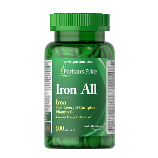 Iron All Iron 100 Tablets