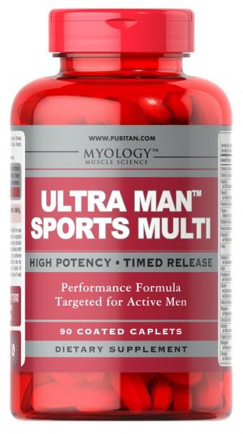 Ultra Man Sports Multi 90 Caps