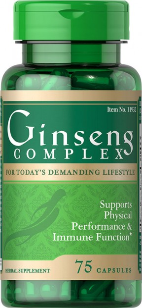 Ginseng Complex 75 Capsules