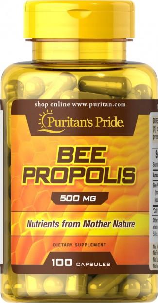 Bee Propolis 500 mg 100 Capsules