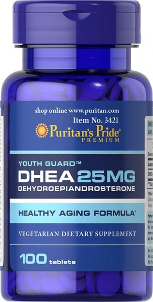DHEA 25 mg 100 Tablets