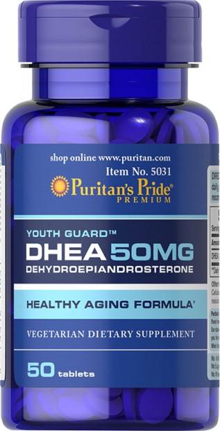 DHEA 50 mg 50 Tablets