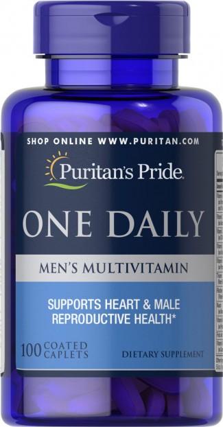 One Daily Men's Multivitamin 100 caplets exp 5-2021
