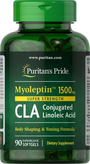 Super Strength Myo-Leptin™ CLA 1500 mg 90 Softgels 3/2020