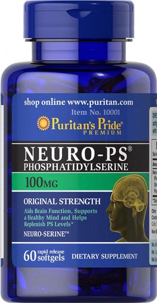 Neuro-Ps (Phosphatidylserine) 100 mg 60 Softgels