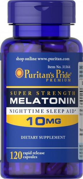 Melatonin 10 mg  120 Capsules